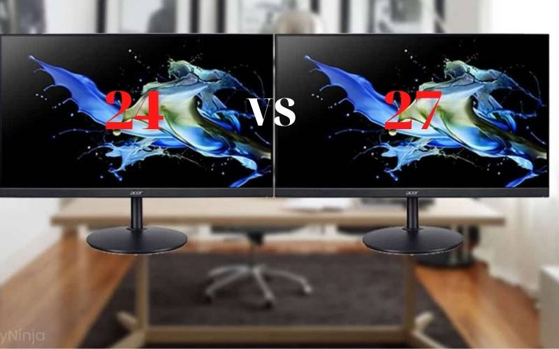 24 Vs 27 Monitor 2021 Which One Should You Buy