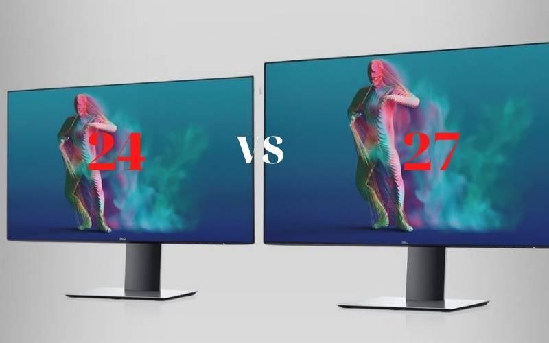 Comparing 27 inch vs 24 inch monitor