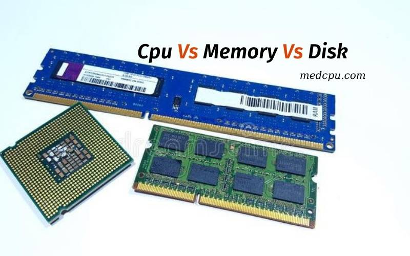 Cpu Vs Memory Vs Disk 2021 Everything You Need To Know