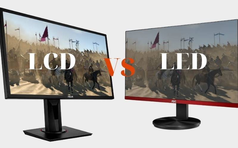 Lcd Vs Led Monitor Gaming 2021 Which One to Choose