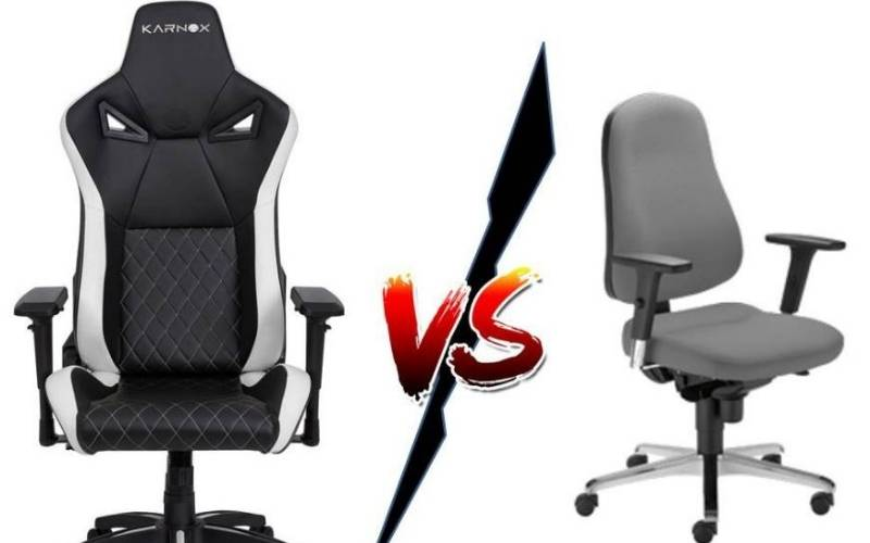Office Chair Vs Gaming Chair 2021 Which One to Choose