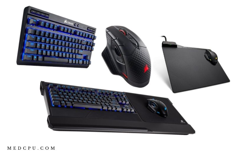 External Components of a gaming pc