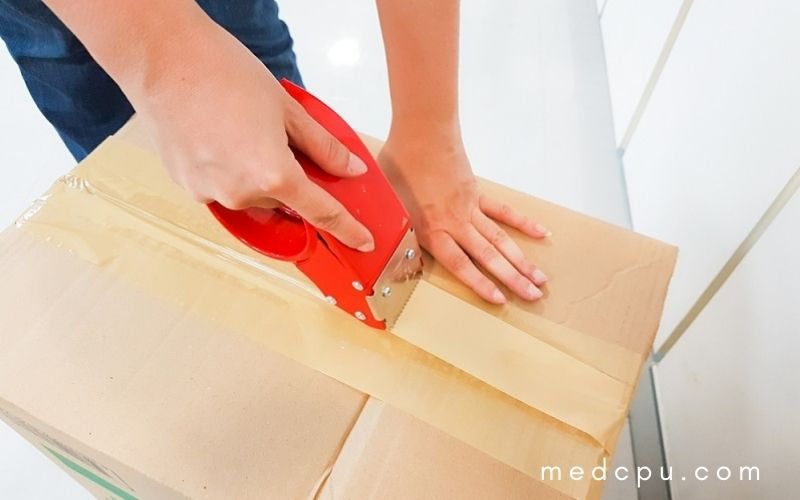 How to prepare laptop for shipment