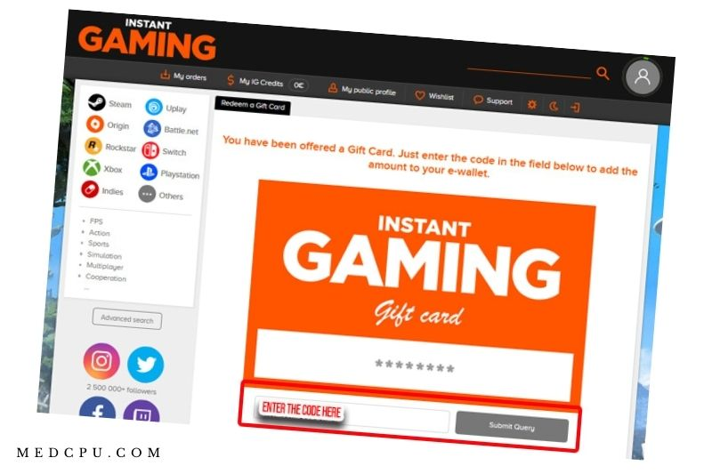 Instant Gaming FAQs (1)