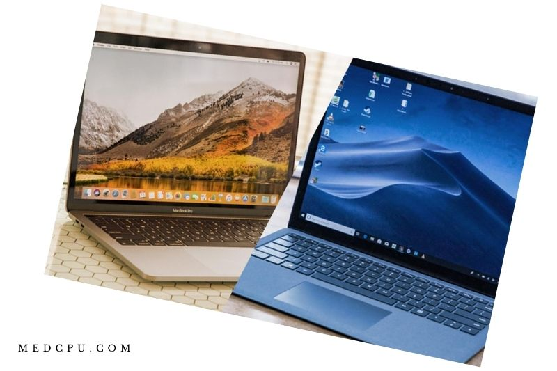 Surface Laptop 2 and Macbook Pro - Portability (1)