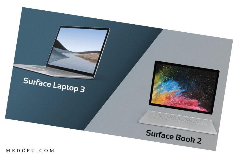 Surface Laptop 3 Vs Surface Book 2