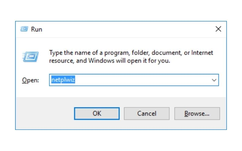 Use netplwiz to bypass the HP Laptop password
