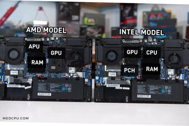 Gaming Laptop CPU and RAM
