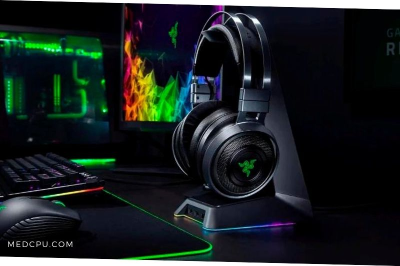 headphones or speakers for gaming setup